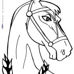 Printable Horse Coloring Page 2