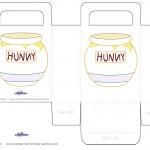 Printable Hunny Pot Favorbag