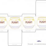 Printable Hunny Pot Favorbox