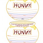 Printable Hunny Pot Invitations