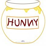 Printable Hunny Pot Decoration