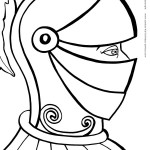 Printable Knight Coloring Page 2