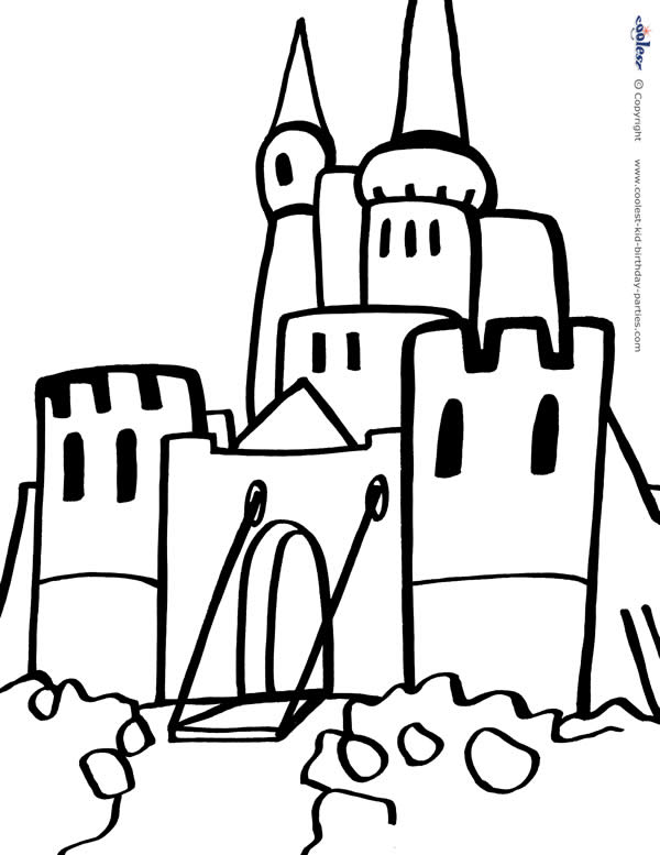 castle doors colouring pages page 3 - Castle Knights Coloring Pages