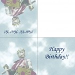 Printable Knight Greeting Card