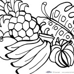 Printable Luau Coloring Page 1