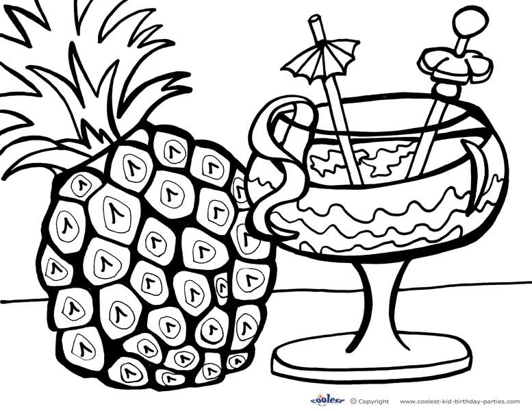 hawaiian coloring pages for children - photo#34