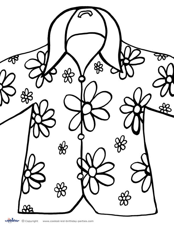 Printable Luau Coloring Page 3 Coolest Free Printables Luau Coloring Pages