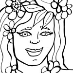 Printable Luau Coloring Page 6