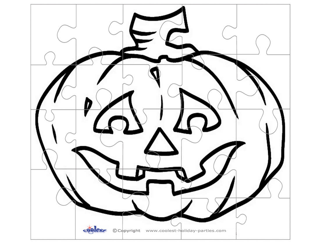 Scroll Saw Puzzle: Jack-O-Lantern | Patterns, Halloween fall ...