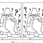 Blank Printable Mystery Invitations