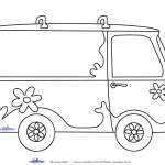 Printable Mystery Van Decoration