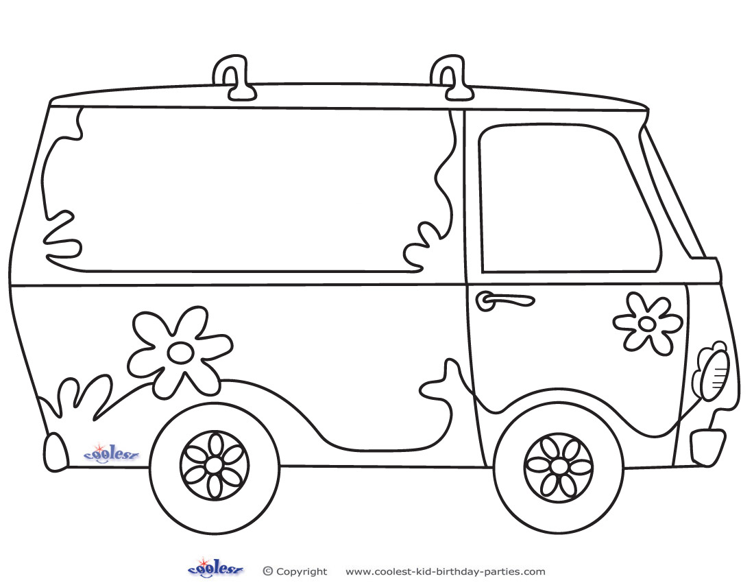 SCOOBY DOO Coloring Pages Color Online Free Printable