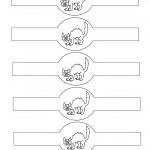 Printable Cat Napkin Holders