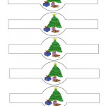 Printable Colored Tree Napkin Holders