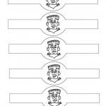 Printable Frankenstein Napkin Holders