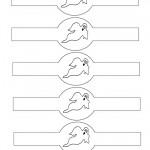 Printable Ghost Napkin Holders
