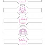Printable Crown and Castle Napkin Holders