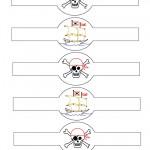 Printable Pirate Napkin Holders