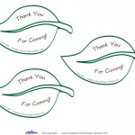 Printable Nature Scavenger Hunt Thank You Cards