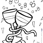 Printable New Years Coloring Page 2