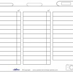 Blank Printable Photo Scavenger Hunt List