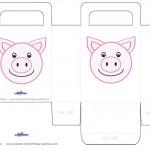 Printable Pig Favorbag