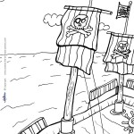 Printable Pirate Coloring Page 2