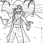 Printable Pirate Coloring Page 5