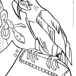 Printable Pirate Coloring Page 6