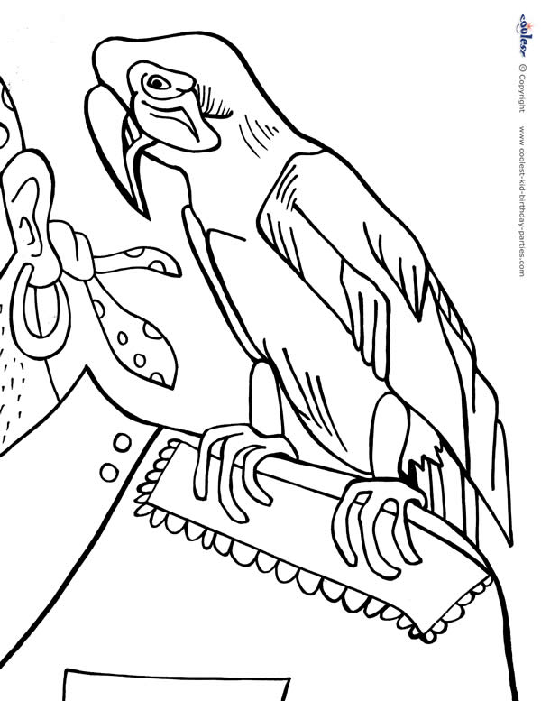 Peter Pan the pirate coloring pages for kids, printable free | 777x600