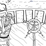 Printable Pirate Coloring Page 7