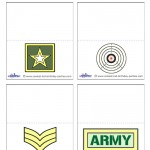 Printable Army Placecards