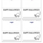 Printable Cat Placecards