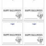 Printable Dracula Placecards