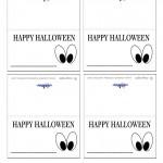 Printable Eyes 2 Placecards
