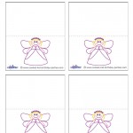 Printable Fairy Placecards