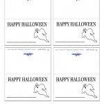 Printable Ghost Placecards