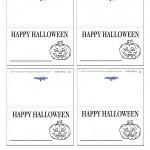 Printable Pumpkin 2 Placecards
