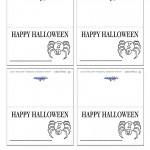 Printable Spider Placecards