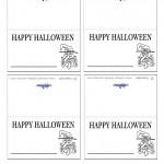 Printable Witch Placecards