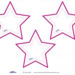 Blank Printable Pointy Stars