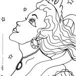 Printable Princess Coloring Page 1