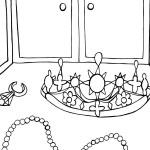 Printable Princess Coloring Page 5