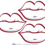 Printable Princess Lips