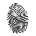 Printable Enlarged Fingerprint