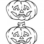 Medium Printable B&W Pumpkin 2