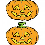 Medium Printable Colored Pumpkin 2