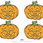 Small Printable Colored Pumpkin 2