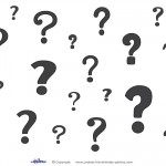 Printable Question Marks Decoration 1