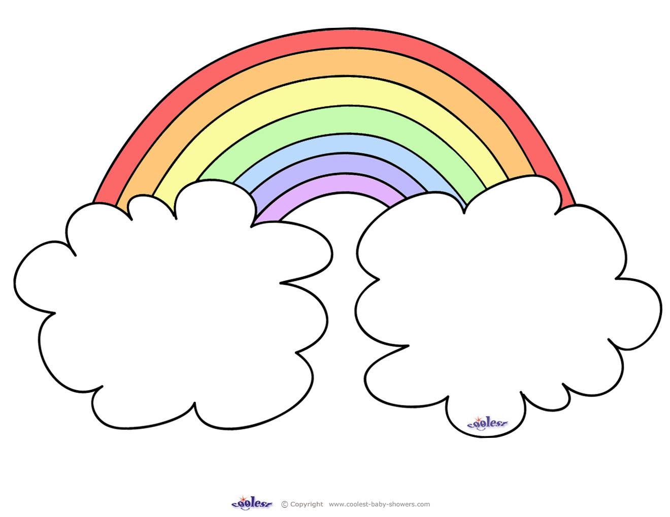 photograph about Printable Rainbow called Substantial Printable Rainbow